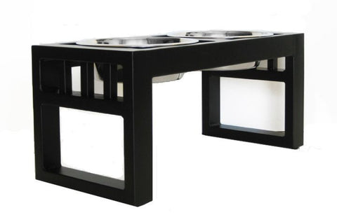 Modern Elevated Dog Diner RDB25