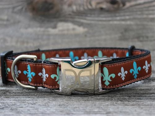 Napoleon Red Dog Collar Custom Buckle