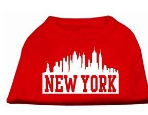 large red dog shirt new york city