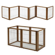 Richell Convertible Dog Gate -Elite 6 panel