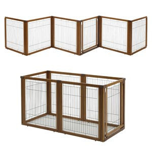 Convertible Indoor Pet Gate By Richell Extra Tall