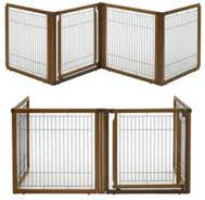 Richel 4 Panel Convertible Freestanding dog barrier