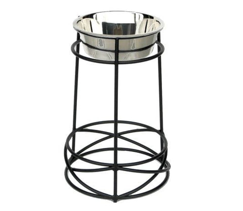 Tall Dog Feeder- Single Bowl