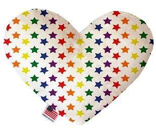 Stars Canvas Squeaker Toy