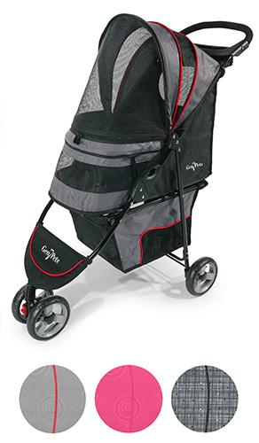 Gray Shadow-pet-stroller
