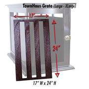 large Town Haus Elite premium dog crate table