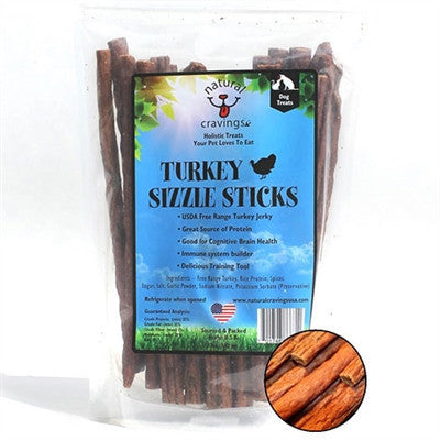 Natural Turkey Jerky Treats