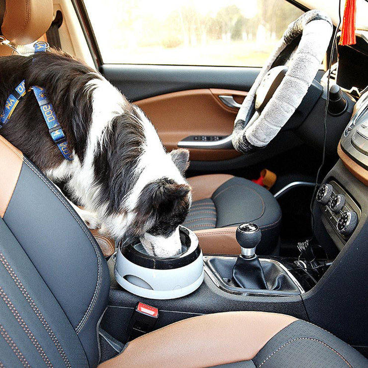 in car automatic no spill water bowl