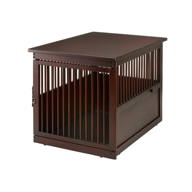 side table dog crate furniture