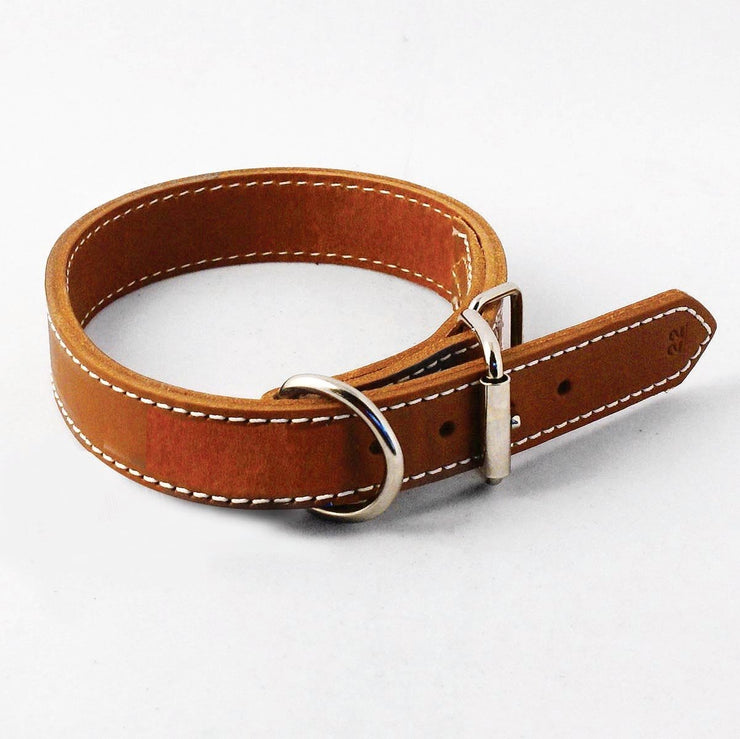 Working Dog Leather Collar