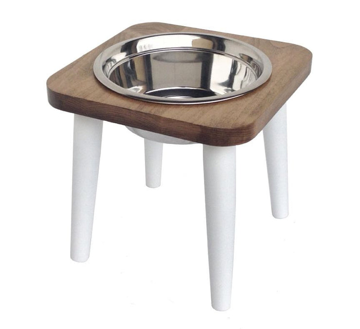Maple Raised Dog Bowl -Single