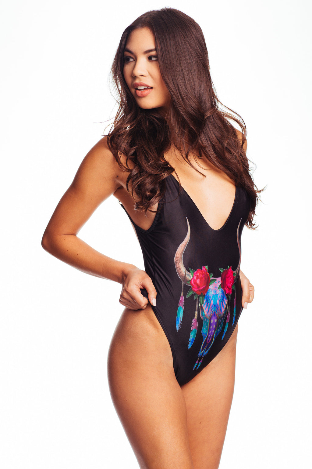 California One-Piece Black