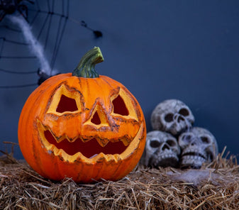 Decoration pumpkin for the spooky halloween nights
