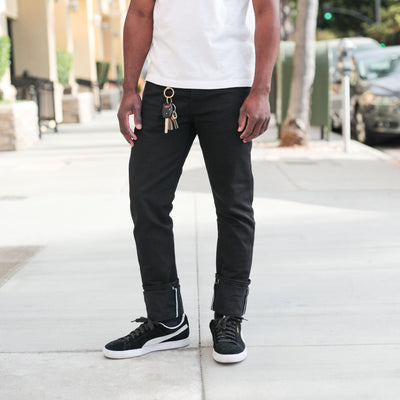 11oz Lightweight Stealth SK Skinny-Fit Jean Black