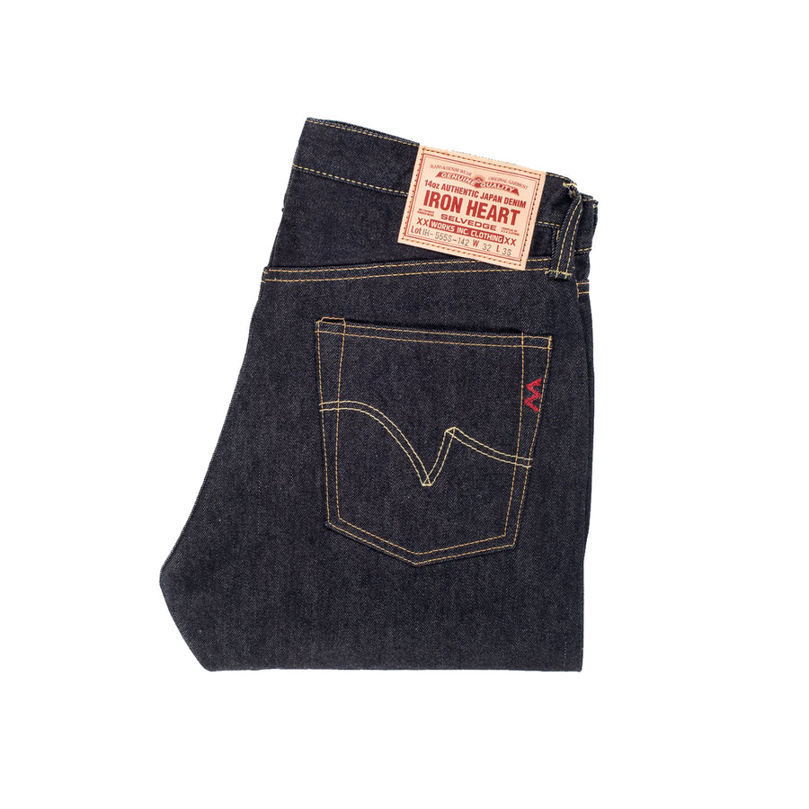 14oz IH-555S-142 Super Slim Jean Indigo