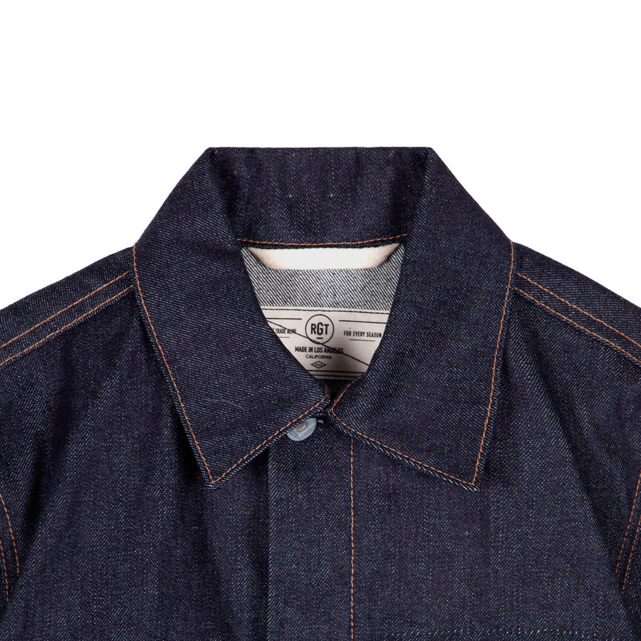 15oz Indigo Supply Jacket (Proprietary)