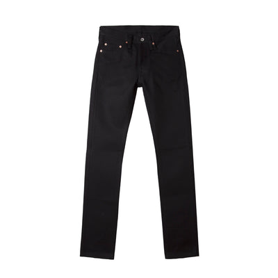 21oz IH-555-03 Super Slim Jean Superblack Fades To Grey