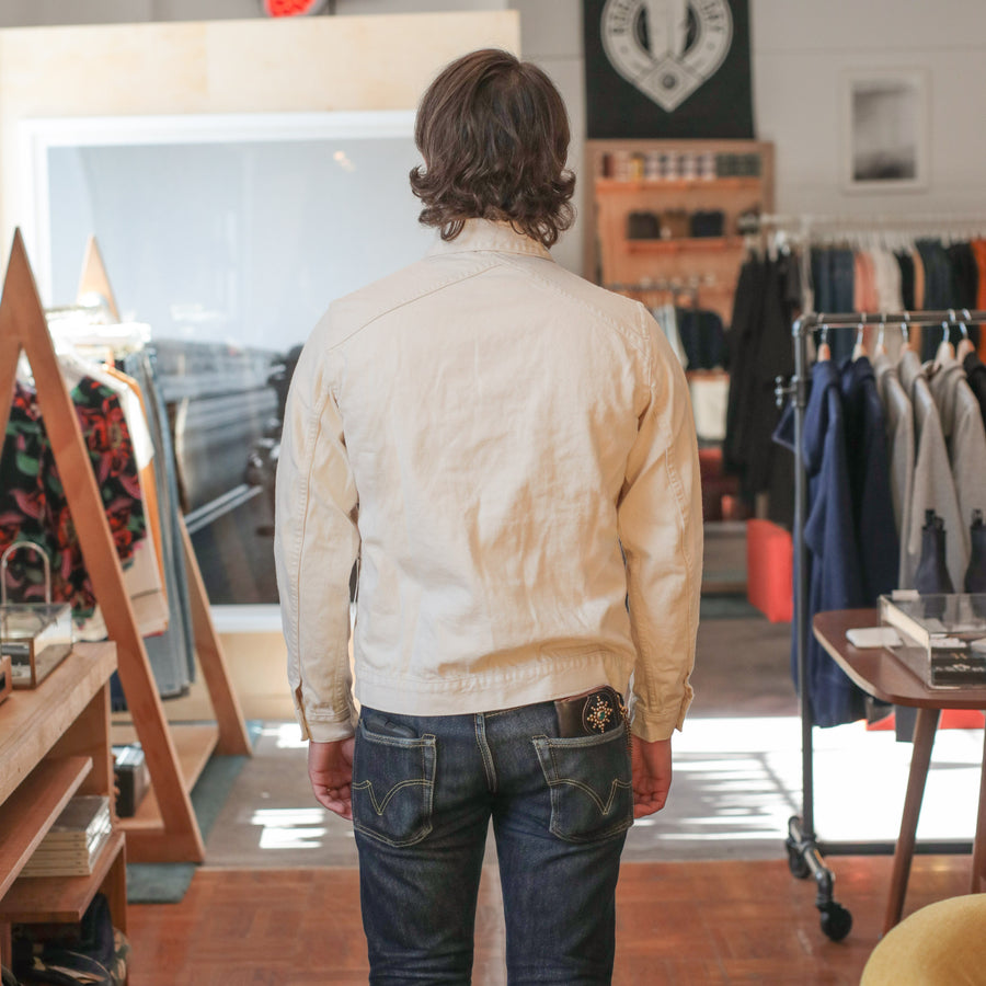 Type 3S Natural Selvedge Denim Jacket
