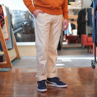 Natural Selvedge Denim Chino
