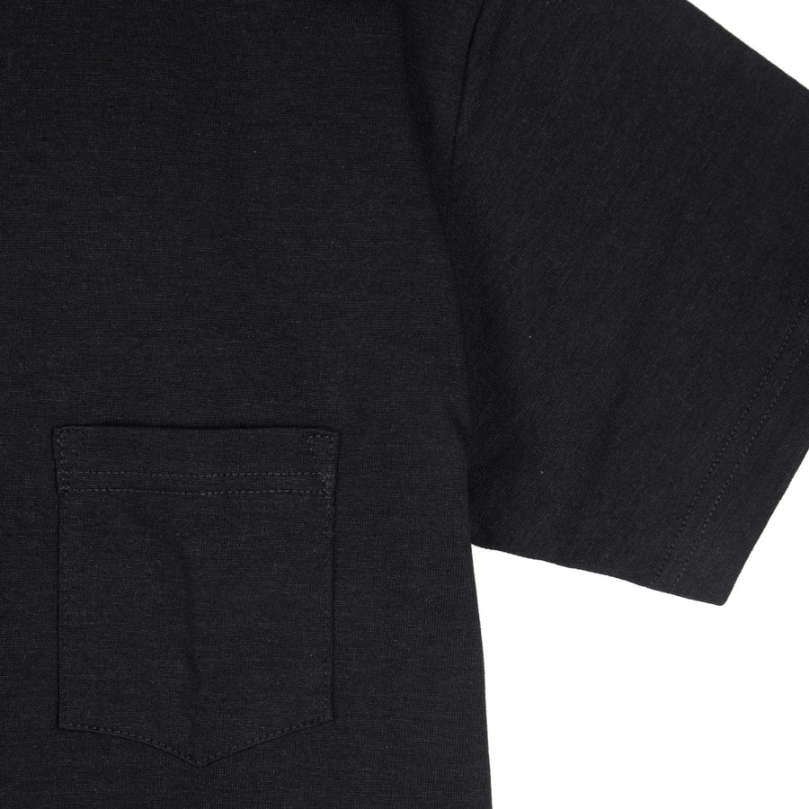 Heavyweight Pocket Tee Black