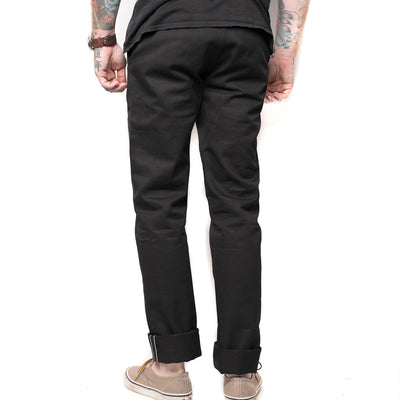Selvedge Twill Chino Black