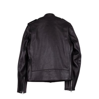 603 Cafecto Steerhide Motorcycle Jacket Black
