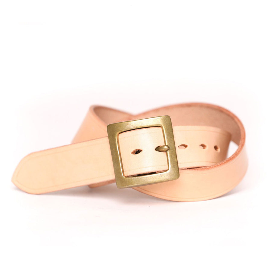 1.25 Inch Belt Natural Veg Tan
