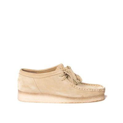 Wallabee Oxford Maple Suede
