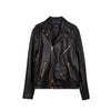 Classic Moto Jacket Black w/ Gold Hardware