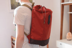 Filson Nylon Day Pack Rusted Red