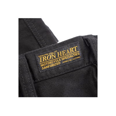 IH-720-BLK 11oz Cotton Whipcord Work Pants Superblack