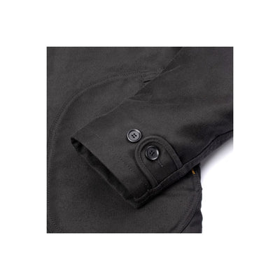 IHM-32-BLK Alpaca Lined N1 Deck Jacket Superblack