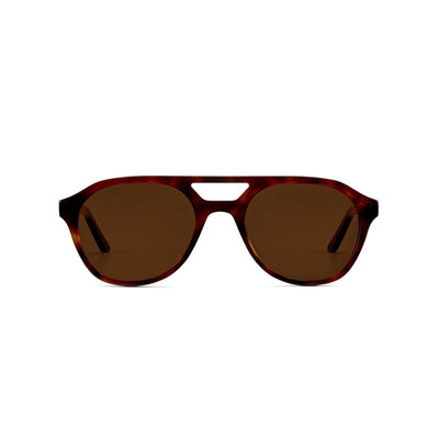 Rockaway Sunglasses Red Tortoise