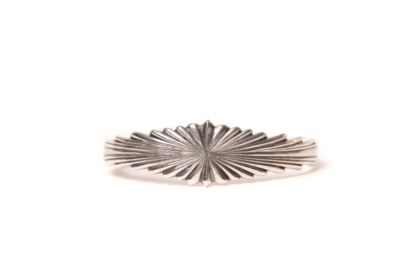 Mt. Hill Sterling Silver Sunburst Cuff