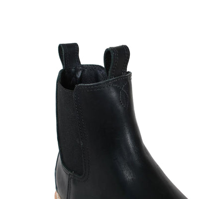 Chelsea Boot Black Oiled Leather