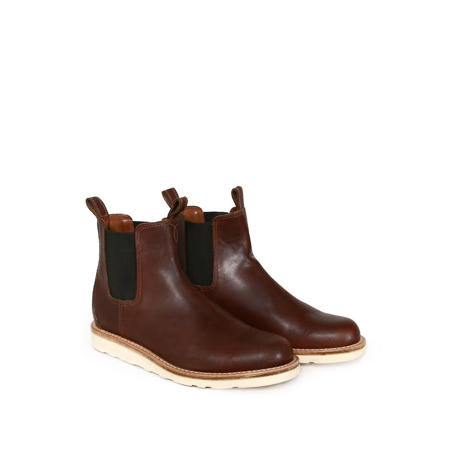 Chelsea Boot Brown Oiled Leather