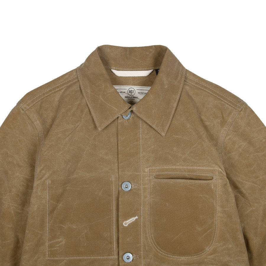 Ridgeline Supply Jacket Tan
