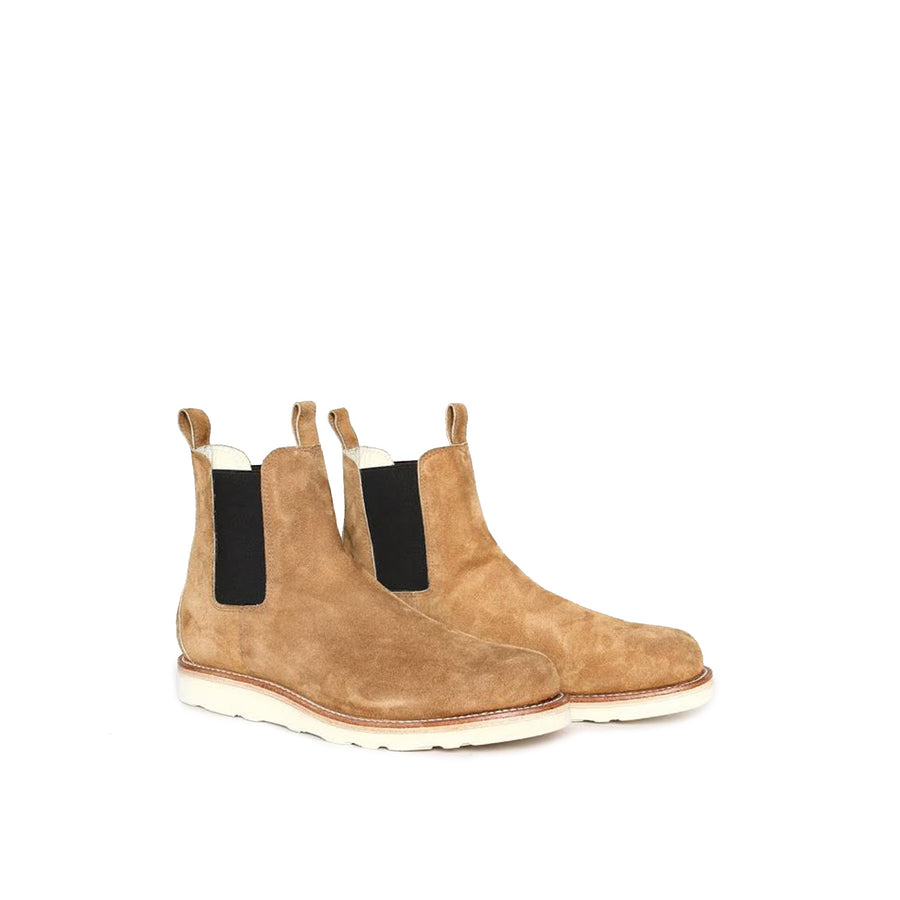 Chelsea Boot Tan Suede