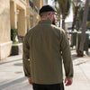 Herringbone Work Shirt Olive