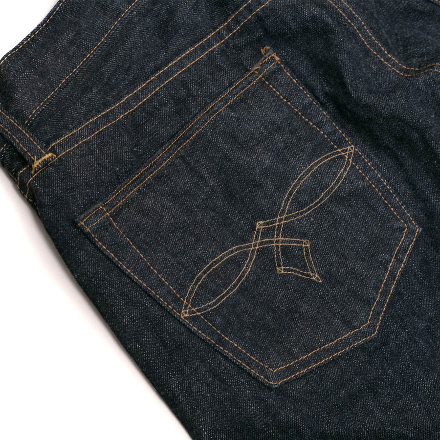 Low Straight Indigo Selvedge