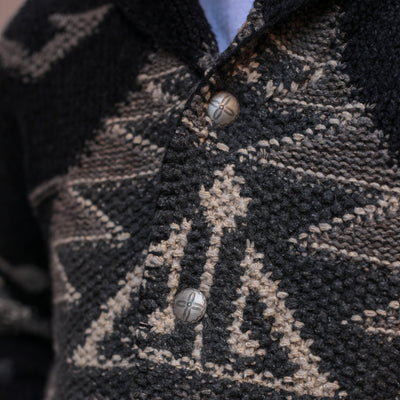 Hand-Knit Ranch Cardigan