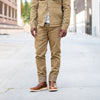 Infantry Pant Tan Denim