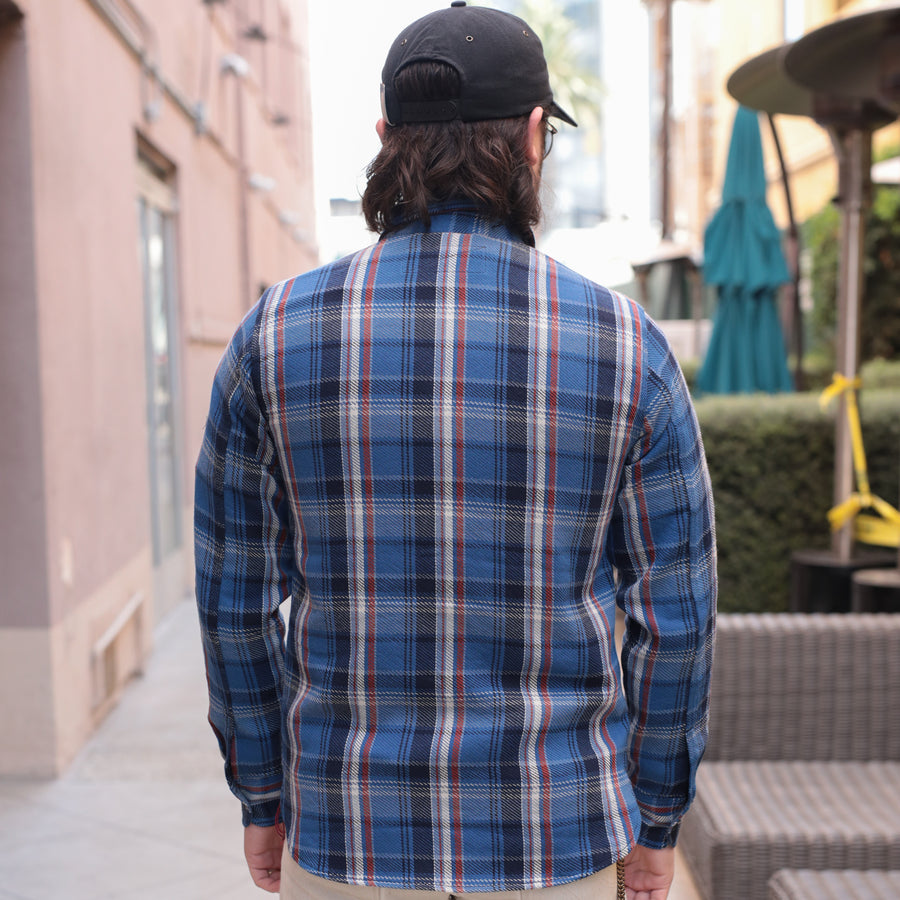 BM Shirt Blue Plaid