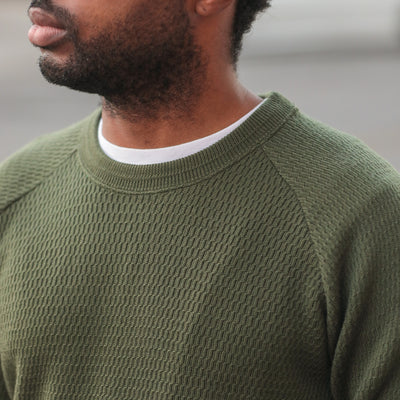 Merino Wool Thermal Shirt Olive