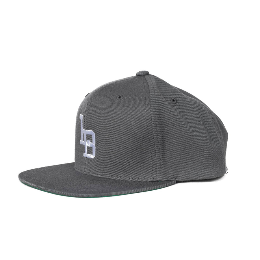 LB Snapback Wool Hat Grey