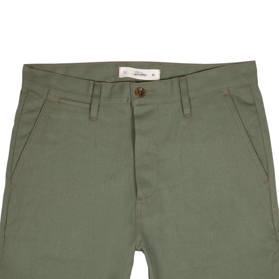 Selvedge Twill Chino Olive