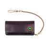 Soothsayer Studded Wallet Green Jewel