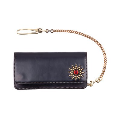 Soothsayer Studded Wallet Red Jewel