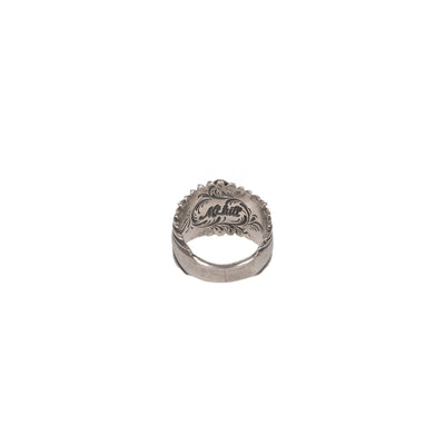 Sterling Silver Sunburst Eyedazzler Ring