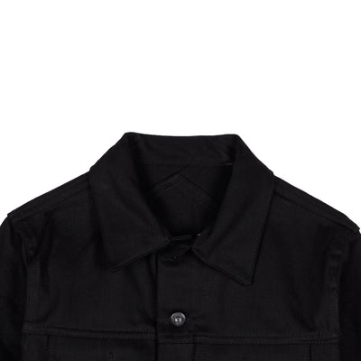 Type 3S Double Black Denim Jacket